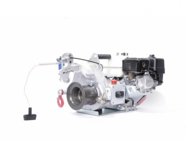 GAS-POWERED PULLING/LIFTING WINCH. PULL. FORCE: 1000 KG. LIFT. CAP.: 450 KG
