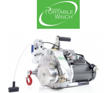 AC ELECTRIC PULLING/LIFTING WINCH 60HZ/120V. PULL FORCE: 820 KG. LIFT. CAP.: 250 KG